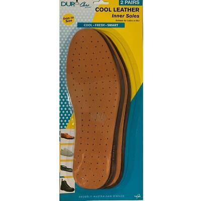 LEATHER INNER SOLES - DURA CARE - 2 PAIRS PER Pack $16.95 - FREE DELIVERY AUS...