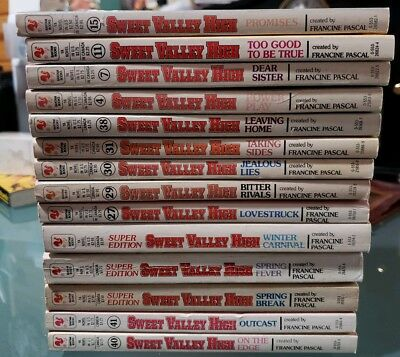 Sweet Valley High Books Full Set Lot Complete Series Total