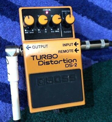 Boss DS-2 Turbo Distortion Vintage Guitar Effects Pedal DS2