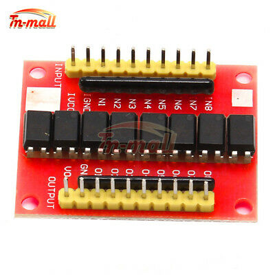 12V 8-Channel Optocoupler Isolation Board High Level Trigger Module
