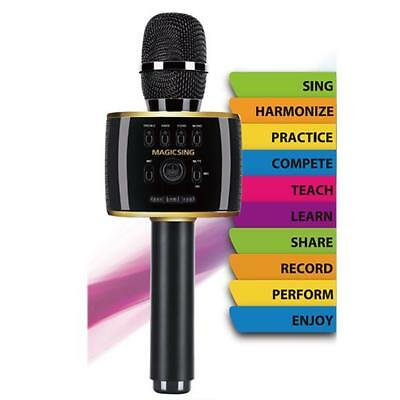 2018 Magic Sing MP30 Bluetooth Karaoke Mic free 2month code to access 220K songs