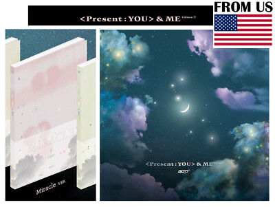 [Miracle Ver.] PRESENT YOU&ME Edition Repackage 3rd Album GOT7 CD+Photocard+Gift