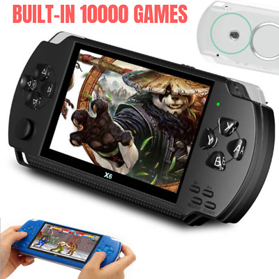 "Portable 4.3"" Handheld Video Game Console 32bit 10000 Retro Games Built-in Cam"