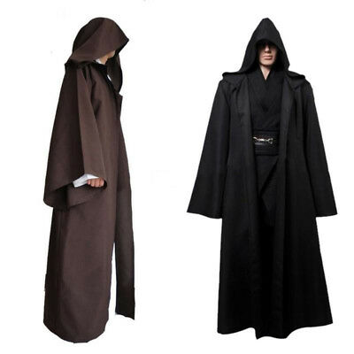 Star Wars/Homme Femme Jedi Warrior Cape à capuche Halloween Déguisement Costume