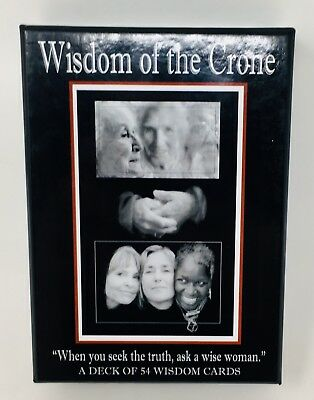 Wisdom Of The Crone Hard To Find Tarot Cards Excellent