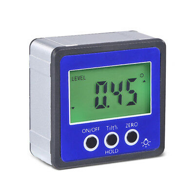 LCD Digital Protractor Angle Meter Finder Gauge Level Box Angle Measuring Tool