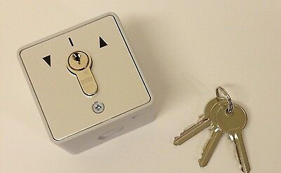 Key Switch with 3 keys for Shutters - New