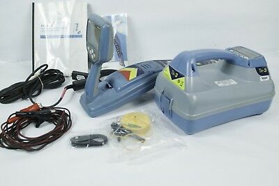 SPX Radiodetection RD7000+ dl w/Tx 3 Utility Cable & Pipe Locator  with Case!