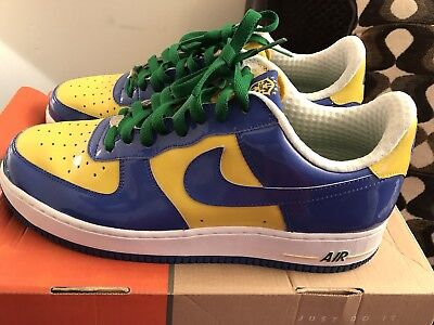 purchase cheap 6c18a 4b986 Men s Nike Air Force 1 Premium Size 11 Brazil World Cup  Pre-owned