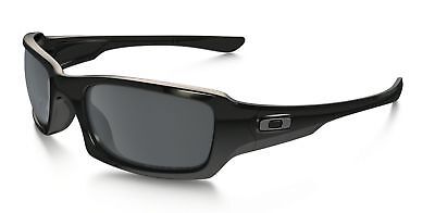 9fffcd33c42 New Oakley Sunglasses Men s Polarized Fives Squared OO9238-06 Black  Rectangle