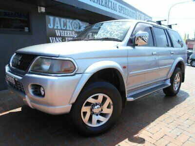 2004 Mitsubishi Challenger PA-MY04 LS (4x4) Silver Automatic 4sp A Wagon