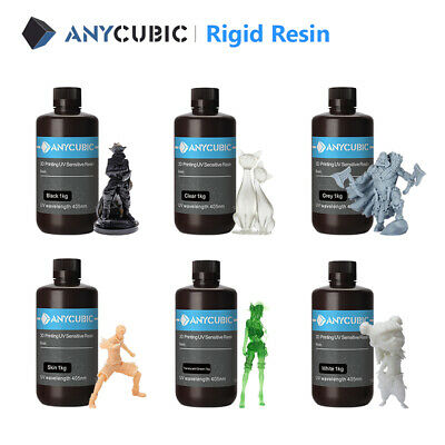 EU Ship ANYCUBIC UV Resin 405nm Sensitive for DLP LCD Photon 3D Printer 500ml/1L