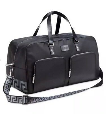 New sealed Versace Black Weekend Holdall Bag Large Gym,holiday,overnight! 362c20ba37