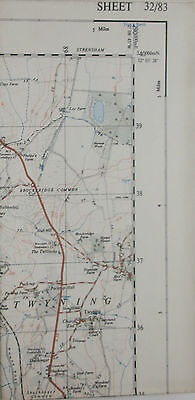 1948 OS Ordnance Survey 1:25000 First Series Prov Map SO 83 Tewkesbury 32/83