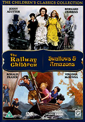 The Railway Children / Swallows And Amazons DVD