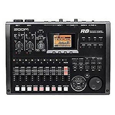Zoom R8 Multitrack SD Recorder Controller and Interface Worldwide shipping FREE