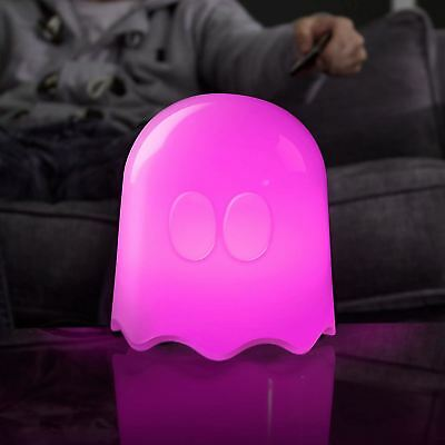 Official Pac-Man 3D Ghost Light Lamp Remote Control 16 Different Lights UK Mains
