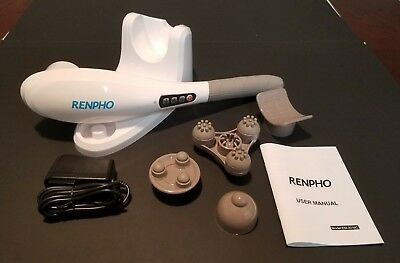 New Renpho Electric Massager Cordless Full Body EM-2016C, New in open box