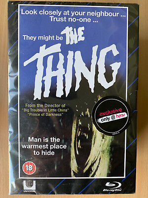 The Thing 1982 Horror Klassisches Limitierte Edition Vhs-Video Stil Blu-Ray +