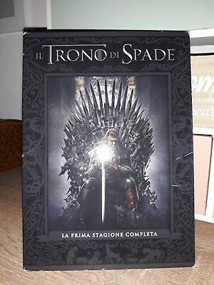 il trono di spade, cofanetto 1 stagione DVD (game of thrones) slipcase