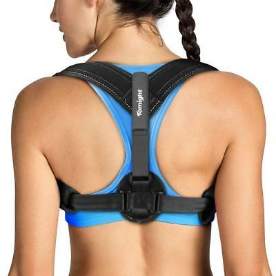 Tomight Back Posture Corrector Adjustable Brace for Neck & Shoulder Pain Relief