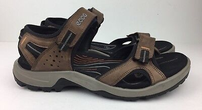 1963fc4b49a Ecco Sandals Men s Offroad Tulum Sport Hiking Espresso Brown Sz 44   10-10.5