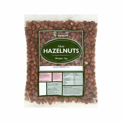 Curtis Whole Hazelnuts 1kg Pack of 6