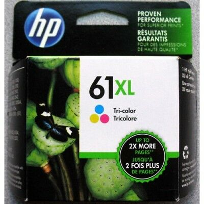 New in Box HP GENUINE 61XL Tri-Color Ink,Exp06/2020 for 2620 4630 4631 4632 4635