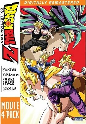 Funimation-Uni Dist Corp Dfn08887D Dragon Ball Z-Movie Pack #2-Movies 6-9 (Dv...