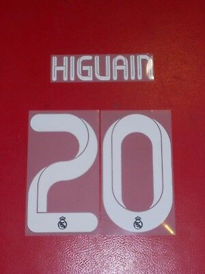 Flocage Officiel Higuain Real Madrid Away 2011/2012