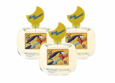 Road Runner by Looney Tunes for Boys & Girls Combo:EDT Spray 10.2oz. (3x 3.4oz)