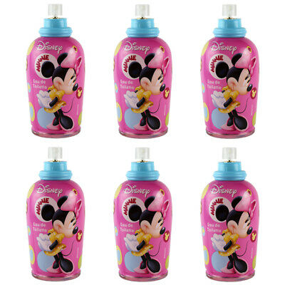Minnie Mouse Rosa by Disney for Girls Combo Pack: EDT 20.4oz (6x 3.4oz) Tester