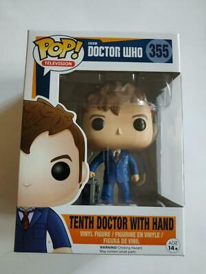 Figurine Funko POP! DOCTOR WHO 355 Tenth Doctor with hand