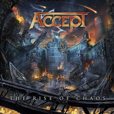 ACCEPT The Rise Of Chaos CD + DVD PAL New Sealed