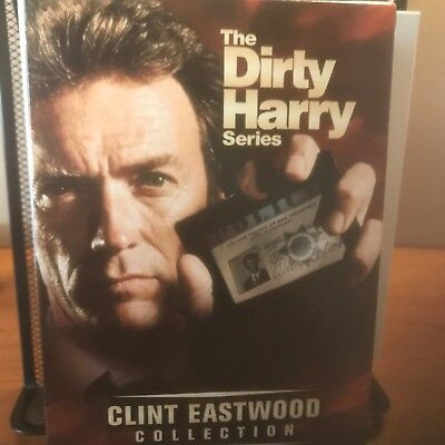 Dvd 5-Movie Box Set - Dirty Harry Series - Clint Eastwood Collection - $19.95