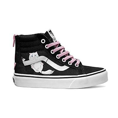 3c69edfe95a689 VANS SK8 HI Zip (Sequins) Black Kids 2.5 -  43.50