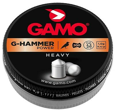 Plombs G-Hammer Power lourds 4,5 mm - GAMO