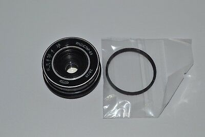 INDUSTAR-69 2.8/28mm Wide Angle USSR Screw M39-M42