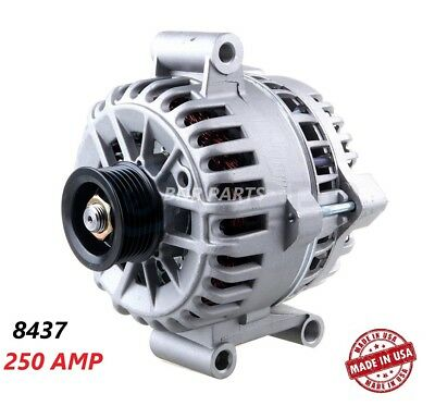 250 AMP 8437 Alternator Ford Mustang 05-08 4.0L High Output Performance NEW HD