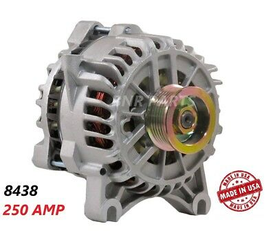 250 AMP 8438 Alternator Ford Mustang 4.6L 05-08 High Output Performance NEW HD