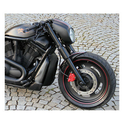kit copri cover FORCELLA fork cover tube harley davidson v-rod vrod 2002-2006