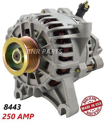 250 AMP 8443 Alternator Ford Expedition Lincoln Navigator High Output HD Perform