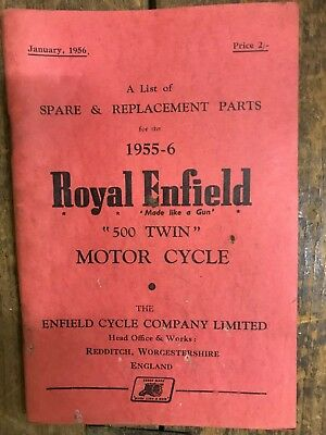 Royal Enfield 500 Twin Spare and Replacement Parts List
