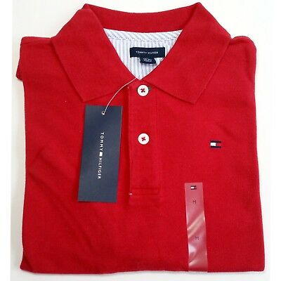 607a049f5 TOMMY HILFIGER BOYS Polo Shirt in Red