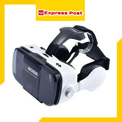 2019 VR BOX Headset VR BOSS Virtual Reality Glasses for Android and Iphone