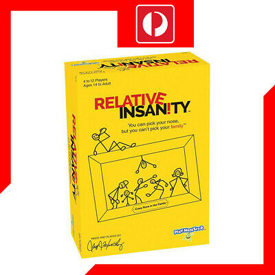 Relative Insanity Board Game Card Game