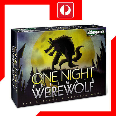 One Night Ultimate Werewolf Party Game
