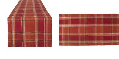 DII Cotton Table Runner Perfect for Fall, Thanksgiving, Catering Events,...