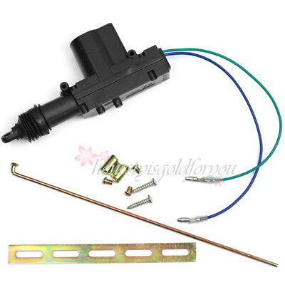 Black Car Auto Heavy Duty Universal Power Door Lock Actuator Motor Plastic 12V