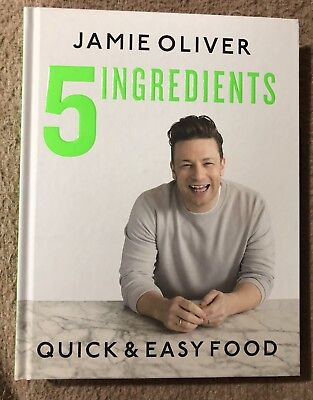 5 Ingredients:Quick & Easy Food Hardcover by Jamie Oliver New 2019 1st Edition